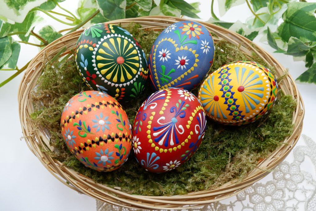 Décoration d'œufs facile